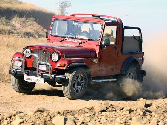 Mahindra Thar : Roadtest - ZigWheels