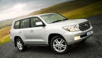 Toyota Land Cruiser V8 - not just roughing it