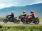 Yamaha FZS vs Honda CB Dazzler vs Hero Honda Hunk