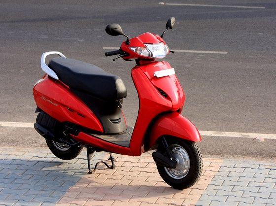 New Honda Activa First Ride Zigwheels
