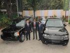 Bulletproof Range Rovers now in India