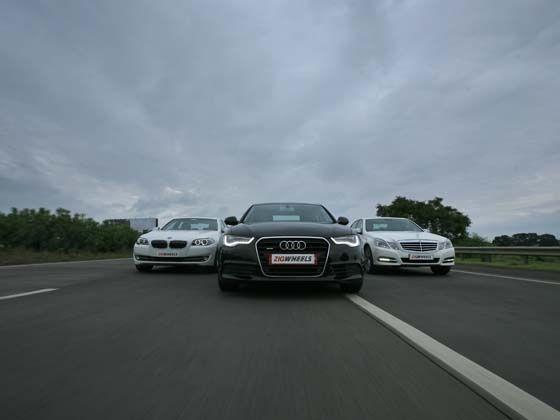 New Audi A6 vs BMW 5 Series vs Mercedes E-Class : Comparison