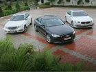 New Audi A6 vs BMW 5 Series vs Mercedes E-Class : Comparison