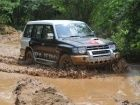 Chapter 2 of the Mitsubishi Pajero 'Heart in Mouth' off-road rally