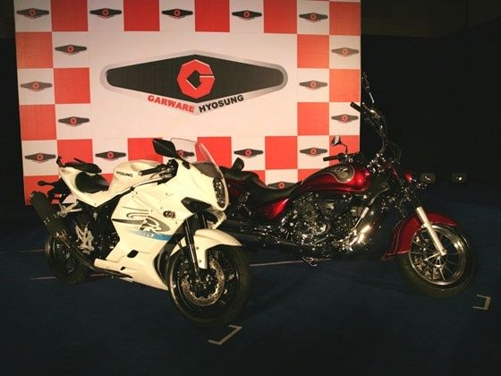 Hyosung GT650R and ST7 Launched in India