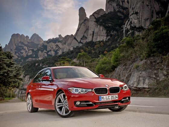 New BMW 3 Series sedan