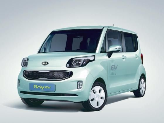 Kia Ray Electric Vehicle
