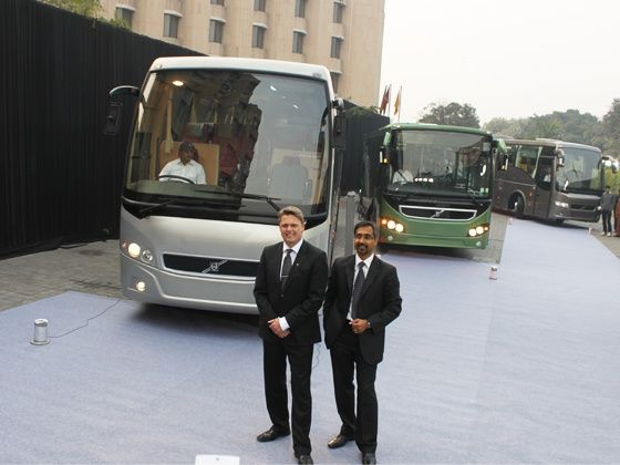 Volvo Buses launch new transport solutions