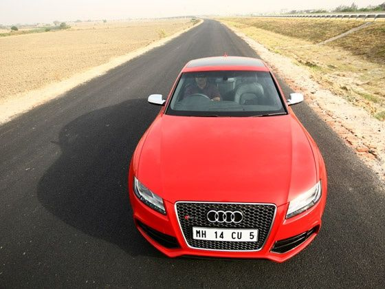 Audi RS5 : First Drive ...