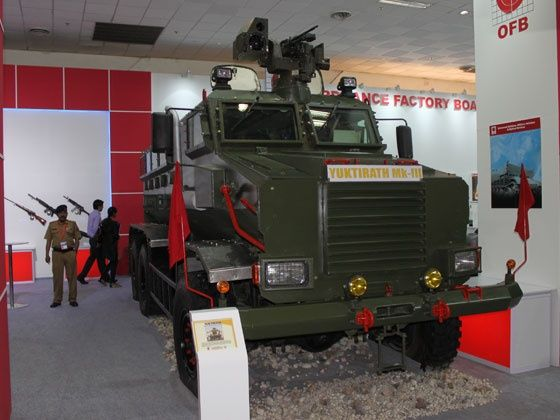 Yuktirath MkIII Mine Protected Vehicle