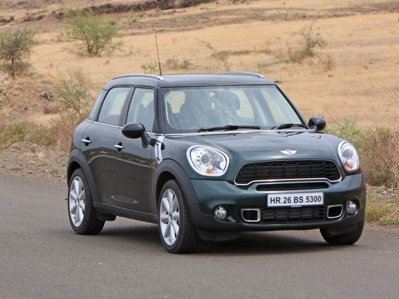 Mini Countryman drive