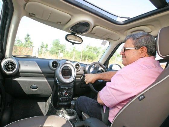 Adil driving