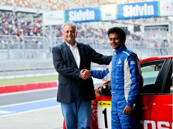 Ameya Walavalkar 2012 VW Polo R Cup Champion