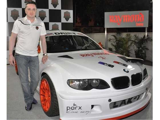 Singhania unveils Indias first drift car