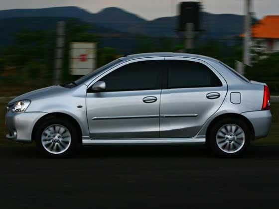 Toyota Liva based sedan
