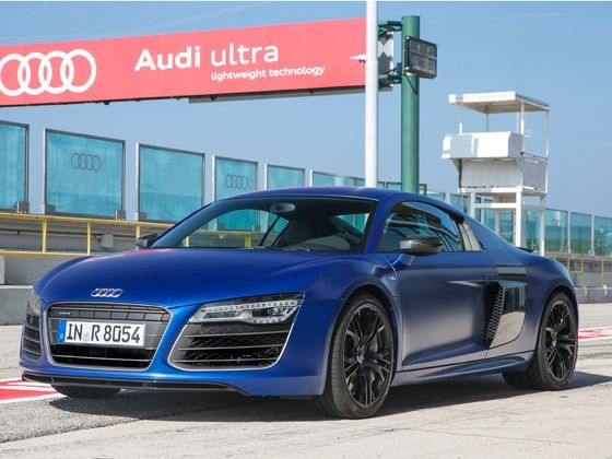 New Audi R8 V10 Coupe Plus