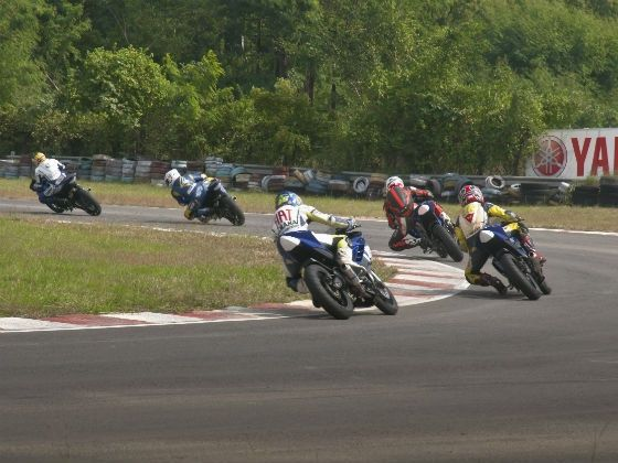 Round 5, 2012 Yamaha YZF R15 One Make Race Championship