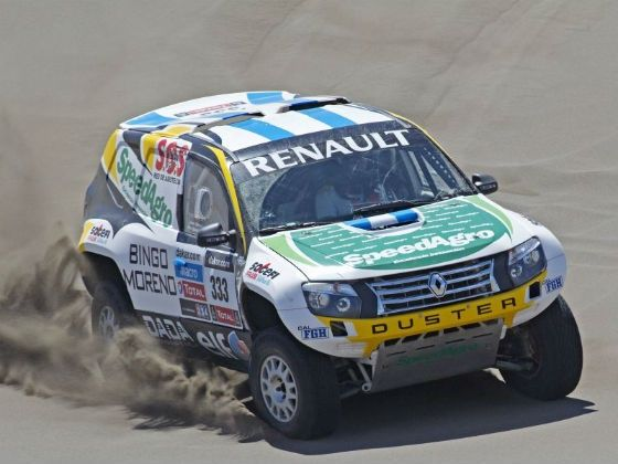 Renault Duster 2013 Dakar Rally