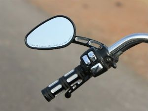 Mirrors for motorcycle safety