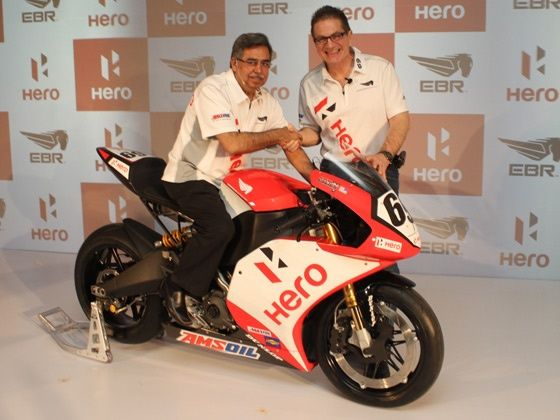 Hero MotoCorp partners with Erick Buell Racing