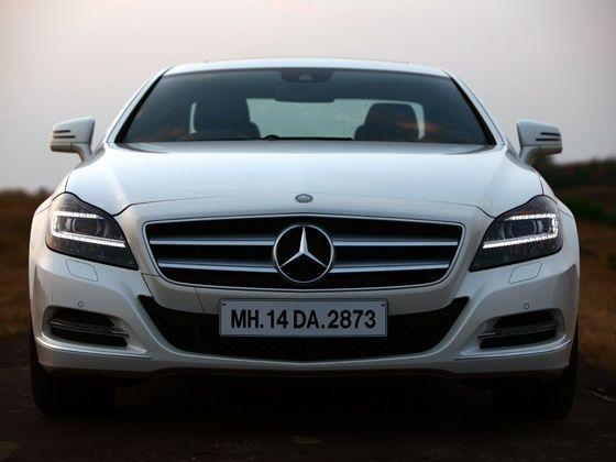 Mercedes-Benz CLS350 BlueEfficiency : Road Test - ZigWheels