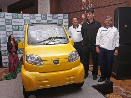 Bajaj RE60 four-wheeler unveil in Delhi