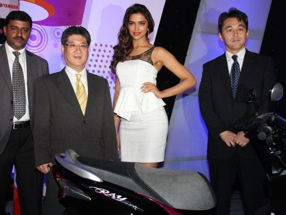 Deepika Padukone to endorse Yamaha Ray