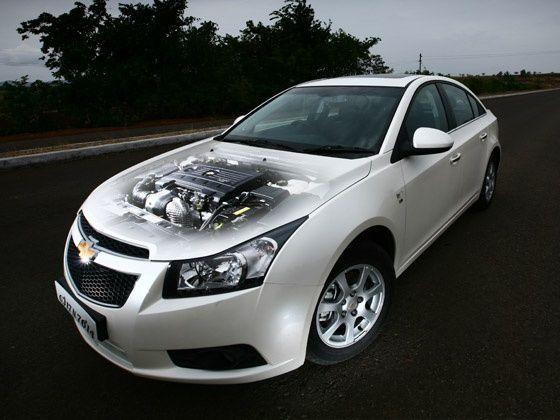 2012 Chevrolet Cruze front