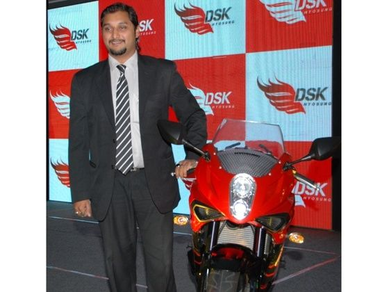 Director of DSK Motorwheels, Shirish Kulkarni