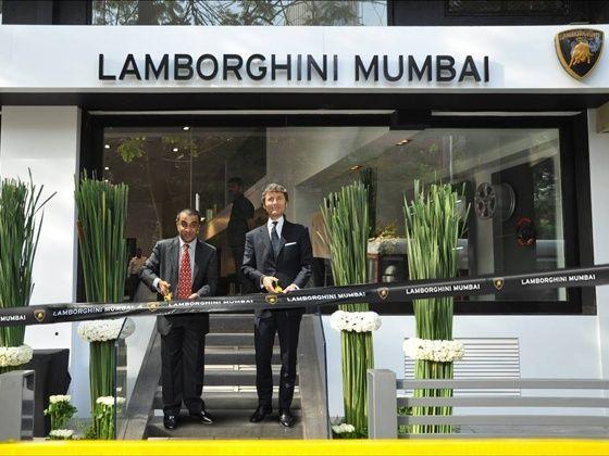 Lamborghini Showroom in Mumbai