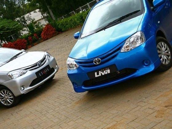Toyota Etios and Etios LIVA