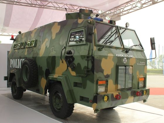 Ashok Leyland Stallion Kavach 4X4 Armoured Troop Carrier