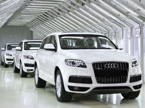Audi Q7 2012 India Manufactured