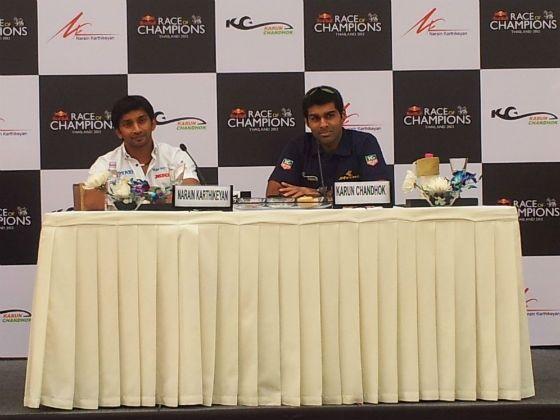 Karthikeyan Chandhok Race of Champions