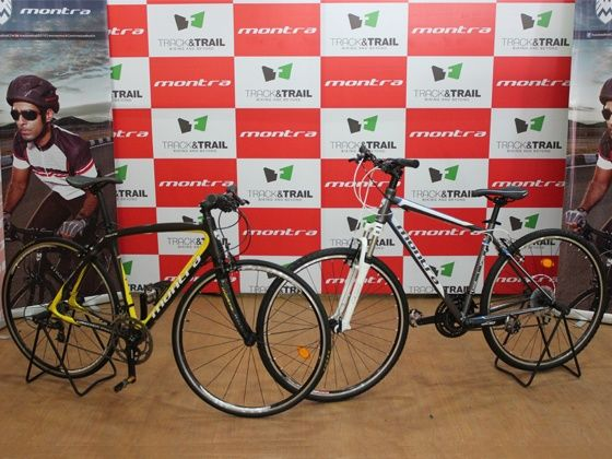 2012 range of Montra bicycles