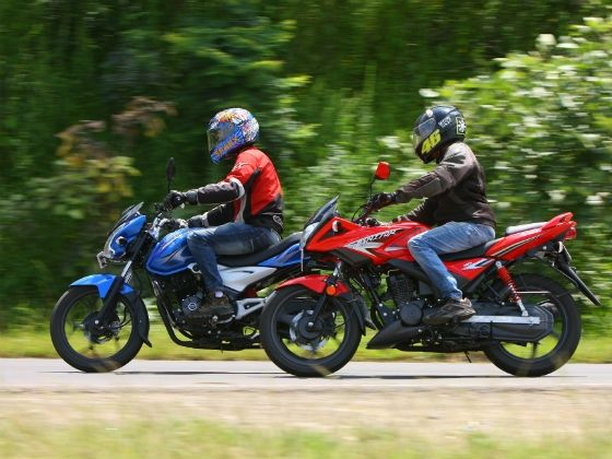 Bajaj Discover 125ST and the Hero Ignitor