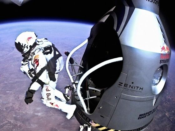 Felix Baumgartner Red Bull Stratos Mission attempt