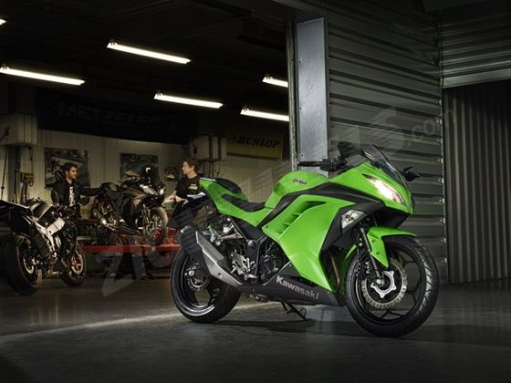 New Kawasaki Ninja 300
