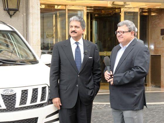 Anand Mahindra and Adil Jal Darukhanawala