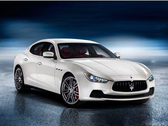 New Maserati Ghibli revealed exterior