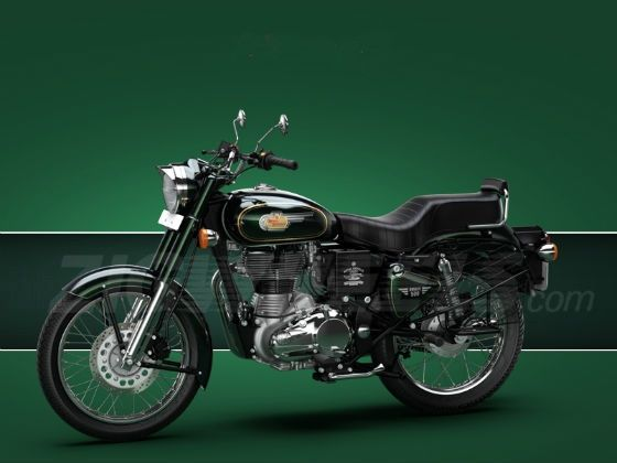 Royal Enfield Bullet 500 front shot