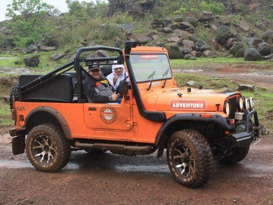 Mahindra Thar off-road experience