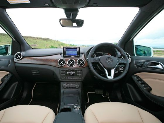 Mercedes B Cl Interior