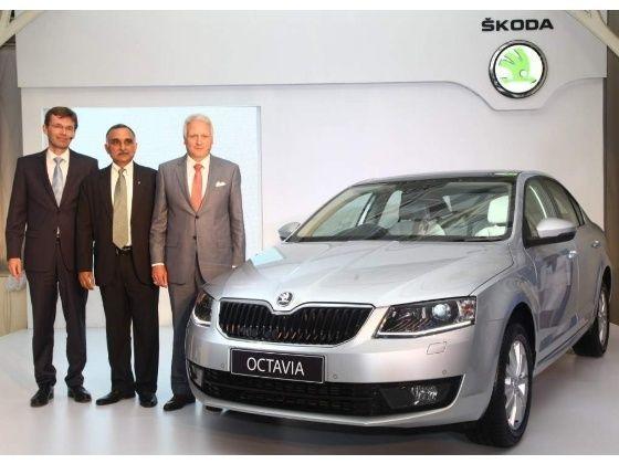 New Skoda Octavia Indian unveiling
