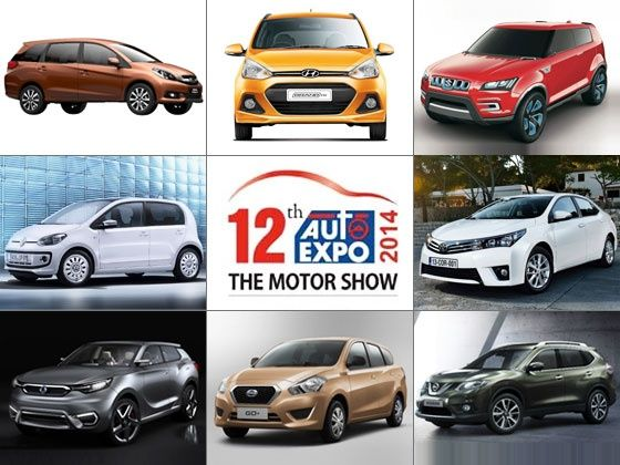 Cars coming to the 2014 Indian Auto Expo