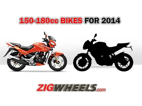 150 to 180cc motorcycles for 2014
