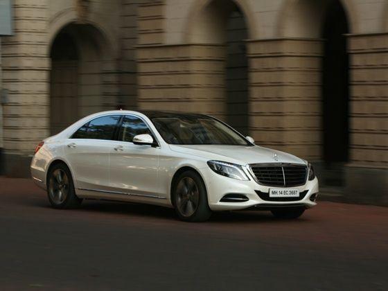 2014 Mercedes-Benz S-Class Panning 1