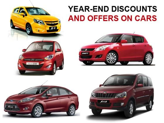 Year end discounts on 2013 car models