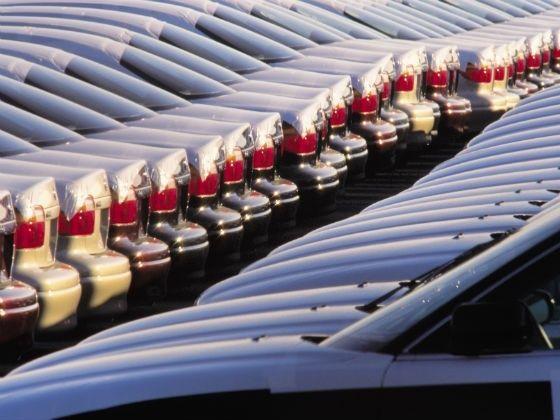 Car stockyard