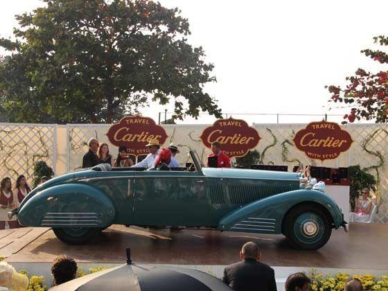 Best Car of the Show was Rolls Royce 1935 Phantom II